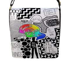 Panic ! At The Disco Flap Messenger Bag (L)