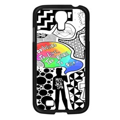 Panic ! At The Disco Samsung Galaxy S4 I9500/ I9505 Case (Black)