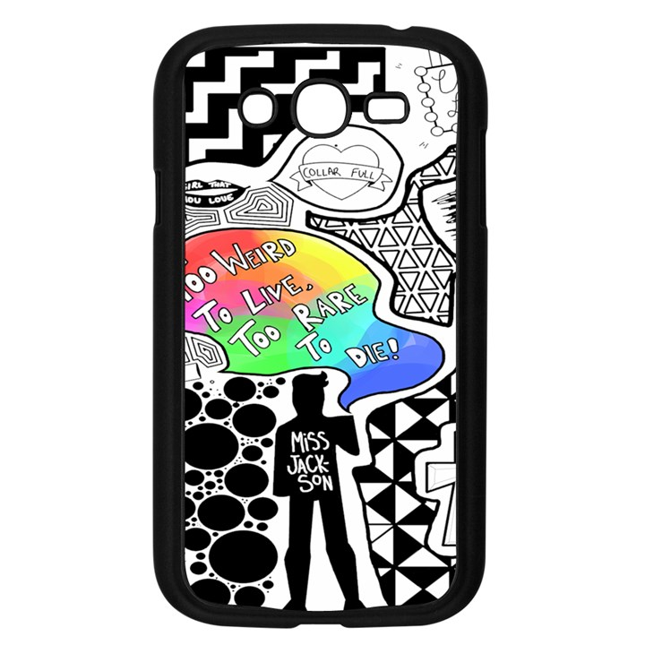 Panic ! At The Disco Samsung Galaxy Grand DUOS I9082 Case (Black)