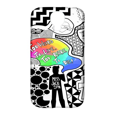Panic ! At The Disco Samsung Galaxy S4 Classic Hardshell Case (PC+Silicone)