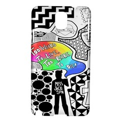 Panic ! At The Disco Samsung Galaxy Note 3 N9005 Hardshell Case