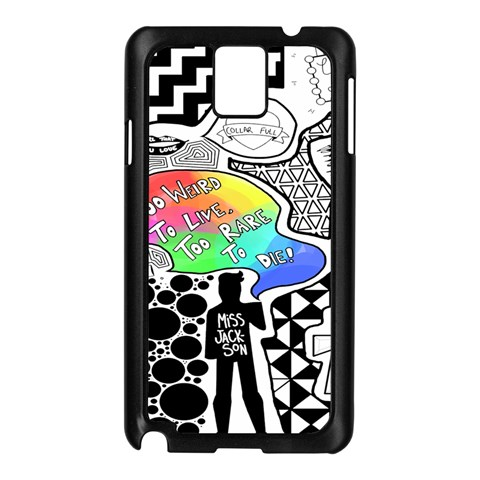 Panic ! At The Disco Samsung Galaxy Note 3 N9005 Case (Black)