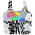 Panic ! At The Disco Full Print Recycle Bags (L)  Back