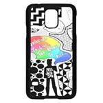 Panic ! At The Disco Samsung Galaxy S5 Case (Black) Front