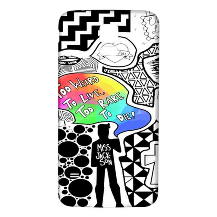 Panic ! At The Disco Samsung Galaxy S5 Back Case (White)