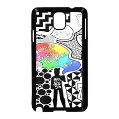 Panic ! At The Disco Samsung Galaxy Note 3 Neo Hardshell Case (Black)