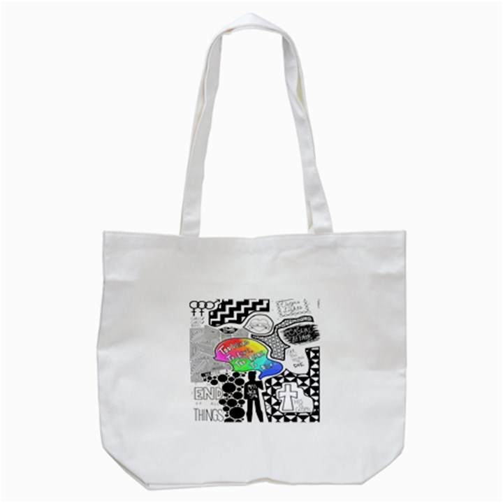 Panic ! At The Disco Tote Bag (White)