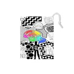 Panic ! At The Disco Drawstring Pouches (Small)  Front