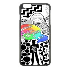 Panic ! At The Disco Apple iPhone 6 Plus/6S Plus Black Enamel Case