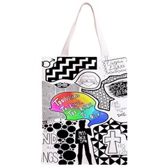 Panic ! At The Disco Classic Light Tote Bag