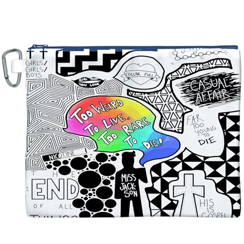 Panic ! At The Disco Canvas Cosmetic Bag (XXXL)