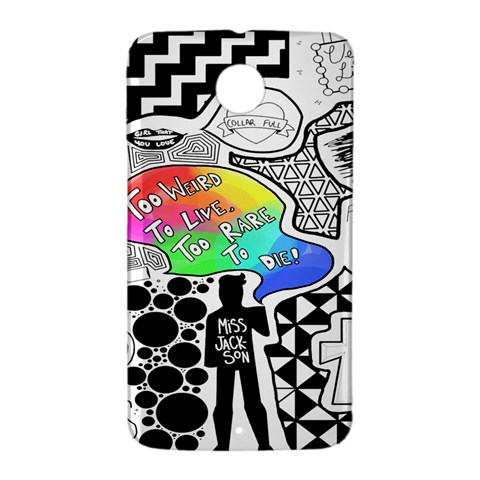 Panic ! At The Disco Nexus 6 Case (White)