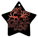 Panic At The Disco   Lying Is The Most Fun A Girl Have Without Taking Her Clothes Ornament (Star)  Front