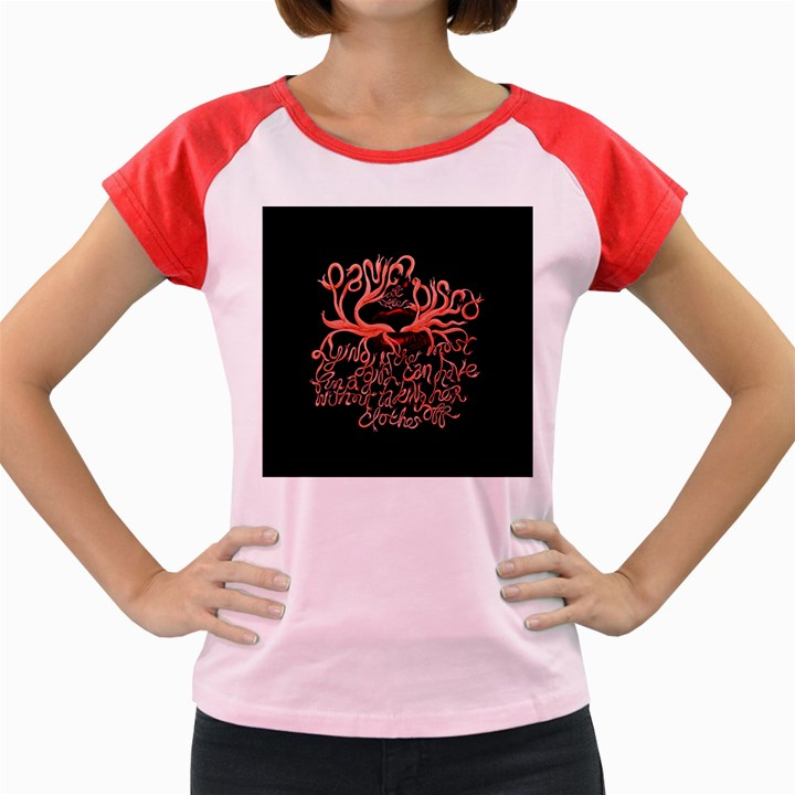 Panic At The Disco   Lying Is The Most Fun A Girl Have Without Taking Her Clothes Women s Cap Sleeve T-Shirt