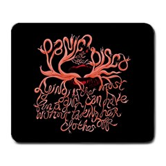 Panic At The Disco   Lying Is The Most Fun A Girl Have Without Taking Her Clothes Large Mousepads