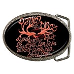 Panic At The Disco   Lying Is The Most Fun A Girl Have Without Taking Her Clothes Belt Buckles Front