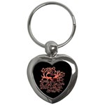 Panic At The Disco   Lying Is The Most Fun A Girl Have Without Taking Her Clothes Key Chains (Heart)  Front