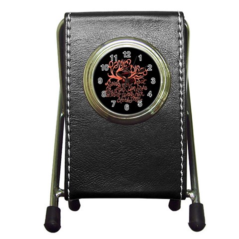 Panic At The Disco   Lying Is The Most Fun A Girl Have Without Taking Her Clothes Pen Holder Desk Clocks