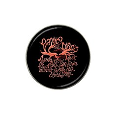 Panic At The Disco   Lying Is The Most Fun A Girl Have Without Taking Her Clothes Hat Clip Ball Marker (4 pack)