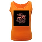 Panic At The Disco   Lying Is The Most Fun A Girl Have Without Taking Her Clothes Women s Dark Tank Top Front