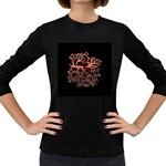 Panic At The Disco   Lying Is The Most Fun A Girl Have Without Taking Her Clothes Women s Long Sleeve Dark T-Shirts Front
