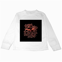 Panic At The Disco   Lying Is The Most Fun A Girl Have Without Taking Her Clothes Kids Long Sleeve T-Shirts