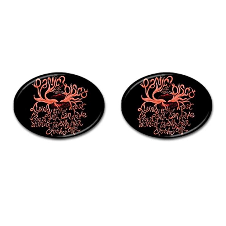 Panic At The Disco   Lying Is The Most Fun A Girl Have Without Taking Her Clothes Cufflinks (Oval)