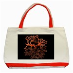 Panic At The Disco   Lying Is The Most Fun A Girl Have Without Taking Her Clothes Classic Tote Bag (Red) Front