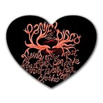 Panic At The Disco   Lying Is The Most Fun A Girl Have Without Taking Her Clothes Heart Mousepads Front