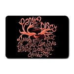 Panic At The Disco   Lying Is The Most Fun A Girl Have Without Taking Her Clothes Small Doormat  24 x16 Door Mat - 1