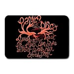 Panic At The Disco   Lying Is The Most Fun A Girl Have Without Taking Her Clothes Plate Mats 18 x12 Plate Mat - 1
