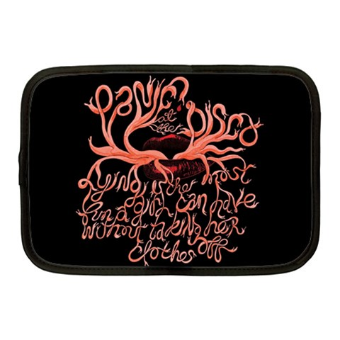 Panic At The Disco   Lying Is The Most Fun A Girl Have Without Taking Her Clothes Netbook Case (Medium)