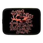 Panic At The Disco   Lying Is The Most Fun A Girl Have Without Taking Her Clothes Netbook Case (Medium)  Front