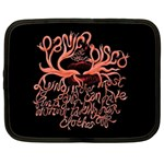 Panic At The Disco   Lying Is The Most Fun A Girl Have Without Taking Her Clothes Netbook Case (Large) Front