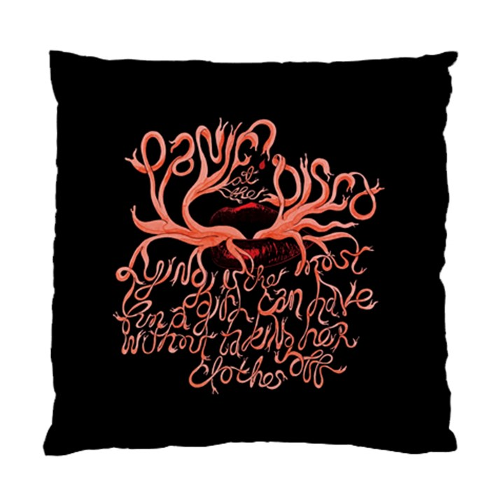 Panic At The Disco   Lying Is The Most Fun A Girl Have Without Taking Her Clothes Standard Cushion Case (One Side)