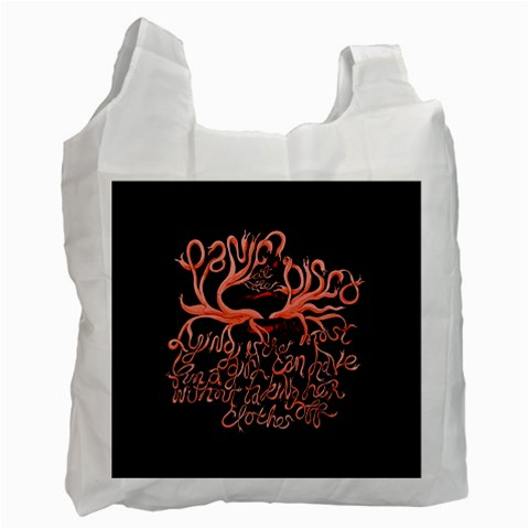 Panic At The Disco   Lying Is The Most Fun A Girl Have Without Taking Her Clothes Recycle Bag (Two Side)