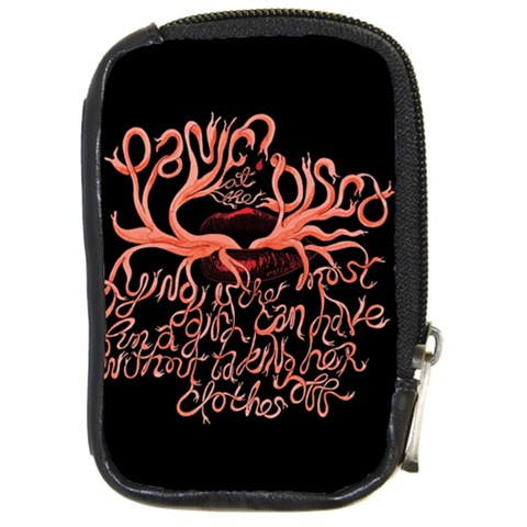 Panic At The Disco   Lying Is The Most Fun A Girl Have Without Taking Her Clothes Compact Camera Cases