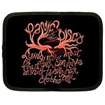 Panic At The Disco   Lying Is The Most Fun A Girl Have Without Taking Her Clothes Netbook Case (XXL)  Front