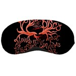 Panic At The Disco   Lying Is The Most Fun A Girl Have Without Taking Her Clothes Sleeping Masks Front