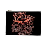Panic At The Disco   Lying Is The Most Fun A Girl Have Without Taking Her Clothes Cosmetic Bag (Large)  Front