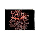 Panic At The Disco   Lying Is The Most Fun A Girl Have Without Taking Her Clothes Cosmetic Bag (Large)  Back