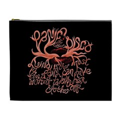 Panic At The Disco   Lying Is The Most Fun A Girl Have Without Taking Her Clothes Cosmetic Bag (XL)