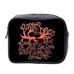Panic At The Disco   Lying Is The Most Fun A Girl Have Without Taking Her Clothes Mini Toiletries Bag 2-Side Front