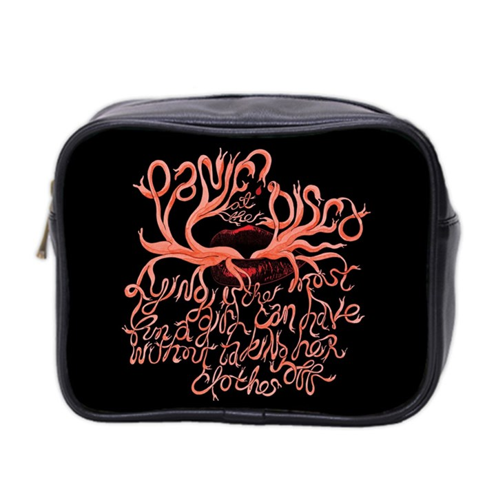 Panic At The Disco   Lying Is The Most Fun A Girl Have Without Taking Her Clothes Mini Toiletries Bag 2-Side