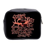 Panic At The Disco   Lying Is The Most Fun A Girl Have Without Taking Her Clothes Mini Toiletries Bag 2-Side Back