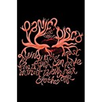 Panic At The Disco   Lying Is The Most Fun A Girl Have Without Taking Her Clothes 5.5  x 8.5  Notebooks Back Cover