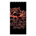 Panic At The Disco   Lying Is The Most Fun A Girl Have Without Taking Her Clothes Shower Curtain 36  x 72  (Stall)  33.26 x66.24 Curtain