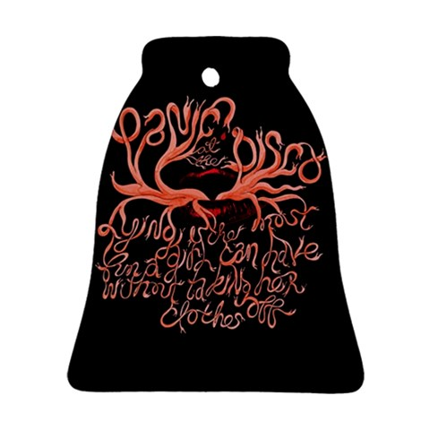 Panic At The Disco   Lying Is The Most Fun A Girl Have Without Taking Her Clothes Ornament (Bell)