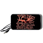Panic At The Disco   Lying Is The Most Fun A Girl Have Without Taking Her Clothes Portable Speaker (Black)  Front