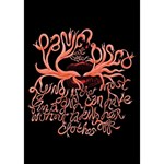Panic At The Disco   Lying Is The Most Fun A Girl Have Without Taking Her Clothes Peace Sign 3D Greeting Card (7x5) Inside